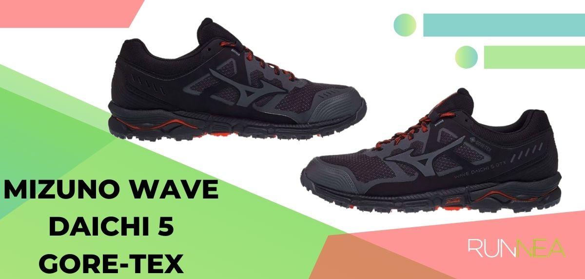 Lo mejor de Mizuno para trail running en 2020, Mizuno Wave Daichi 5 Gore-Tex