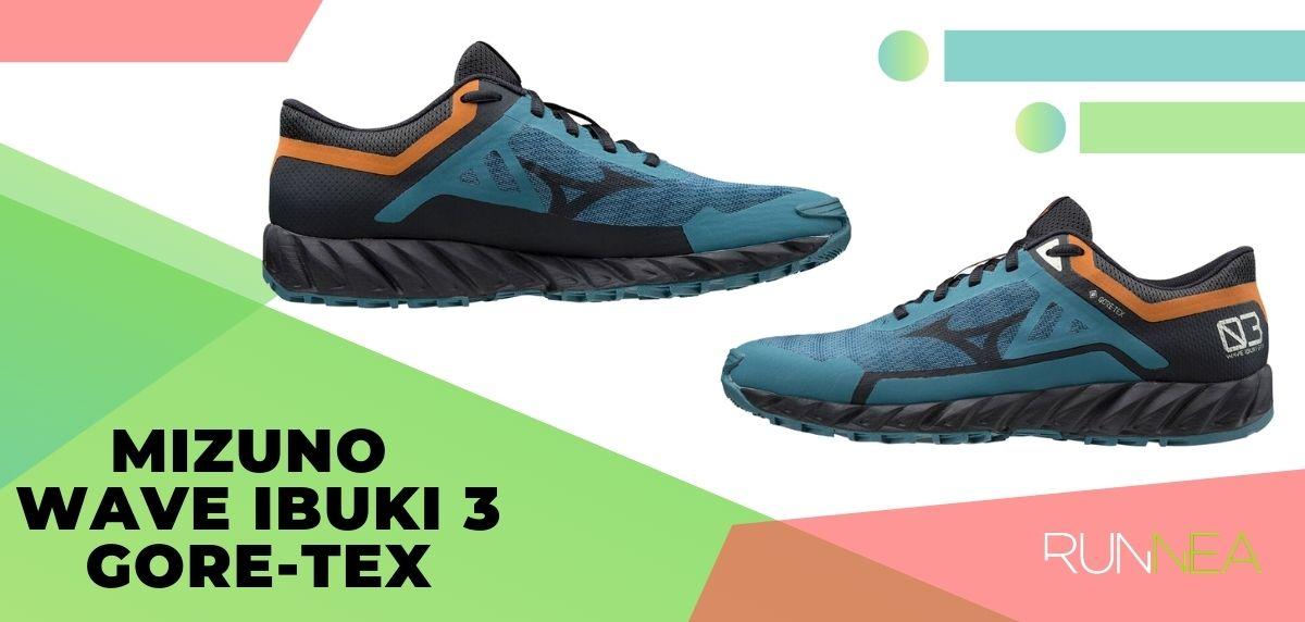 Lo mejor de Mizuno para trail running en 2020, Mizuno Wave Ibuko 3 Gore-Tex
