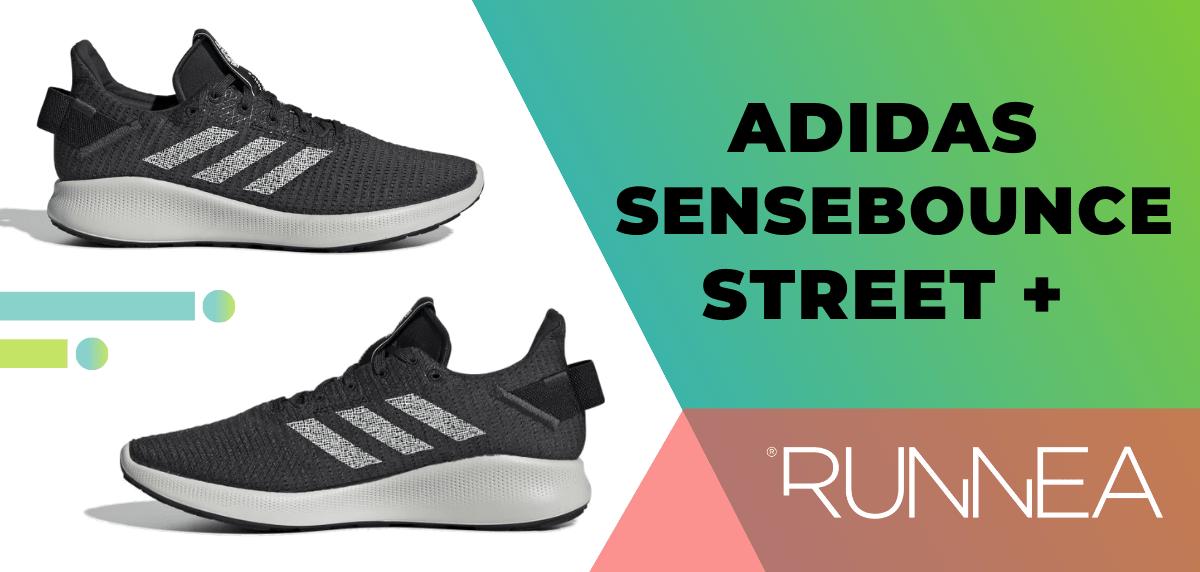 Las mejores zapatillas de running para mujer 2020, Adidas SenseBounce Street+