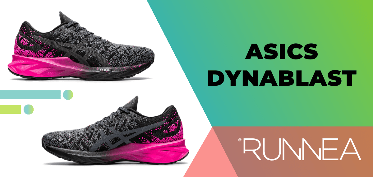 Las mejores zapatillas de running para mujer 2020, ASICS Dynablast