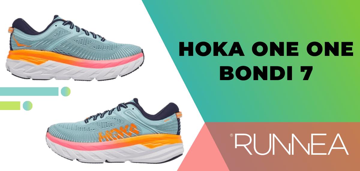 Las mejores zapatillas de running para mujer 2020, Hoka One One Bondi 7