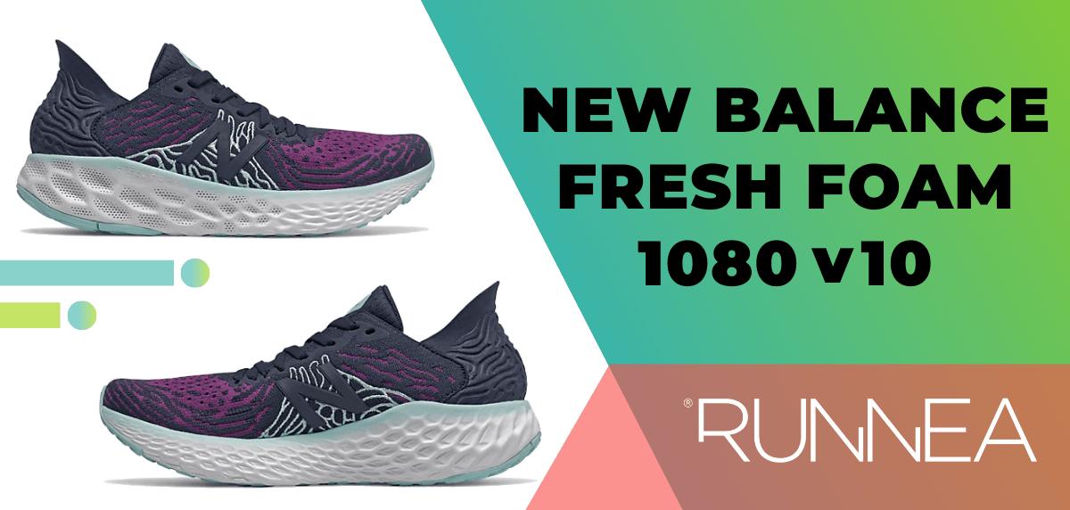 Las mejores zapatillas de running para mujer 2020, New Balance Fresh Foam 1080v10