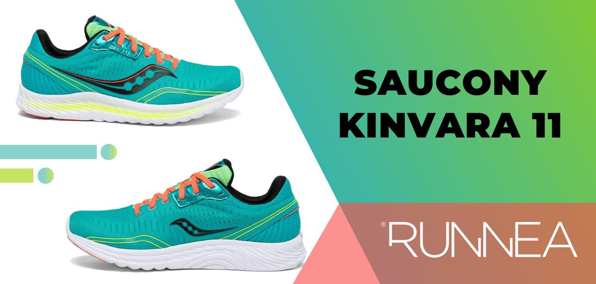 Las mejores zapatillas de running para mujer 2020, Saucony Kinvara 11