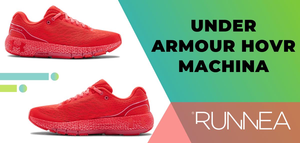 Las mejores zapatillas de running para mujer 2020, Under Armour HOVR Machina