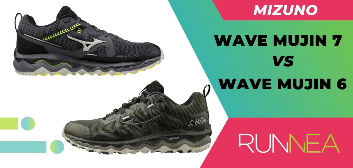 Mizuno Wave Mujin 7, las 5 razones de peso para convertirlas en tus próximas zapatillas de trail, Mujin 7 vs Mujin 6