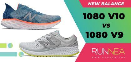 New Balance Fresh Foam 1080 v10 vs 1080 v9, ¿cómo ha evolucionado esta tope de gama?