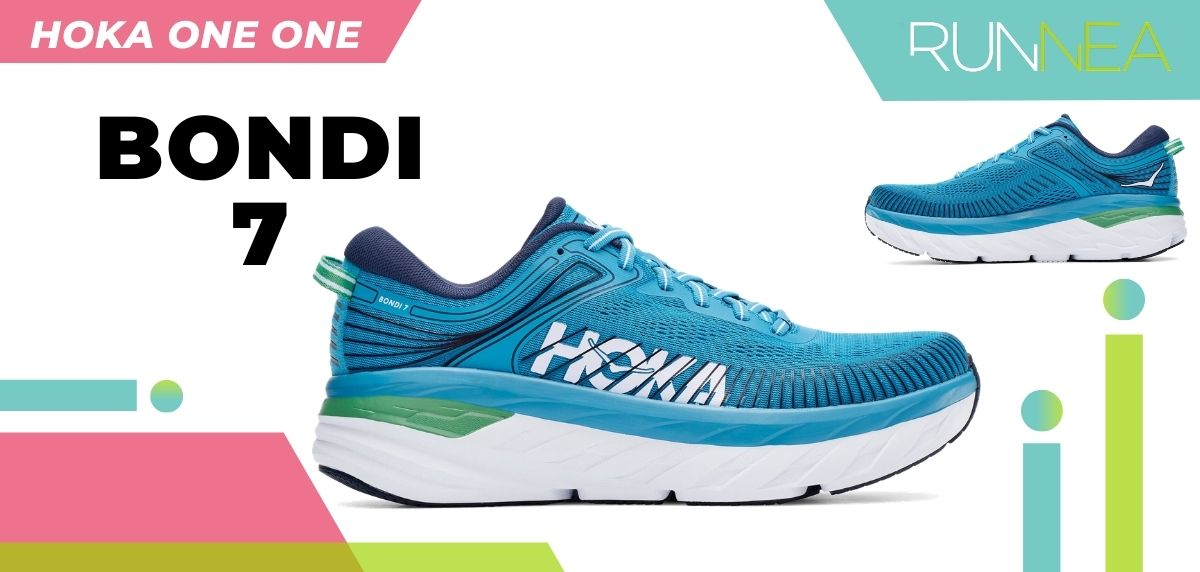 Las novedades 2020 de HOKA ONE ONE en zapatillas running y trail running: HOKA ONE ONE Bondi 7