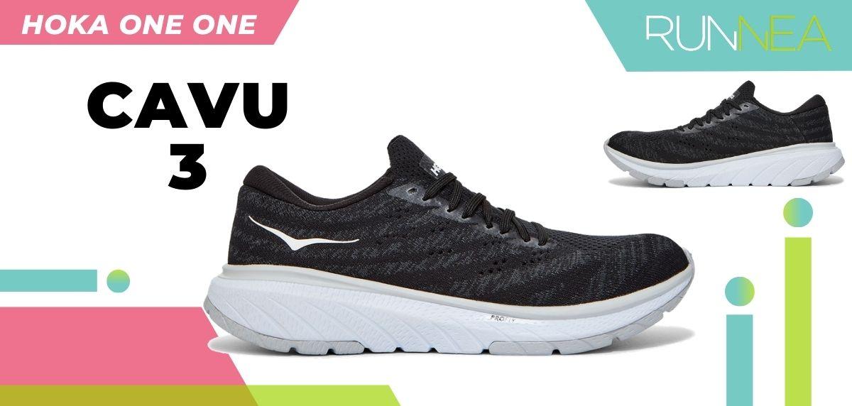 Las novedades 2020 de HOKA ONE ONE en zapatillas running y trail running: HOKA ONE ONE Cavu 3