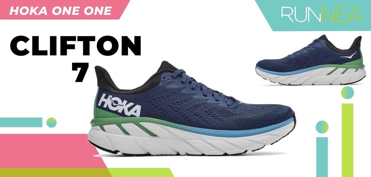Las novedades 2020 de HOKA ONE ONE en zapatillas running y trail running: HOKA ONE ONE Clifton 7