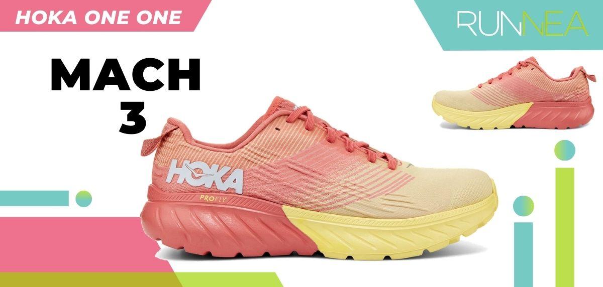 Las novedades 2020 de HOKA ONE ONE en zapatillas running y trail running: HOKA ONE ONE Mach 3