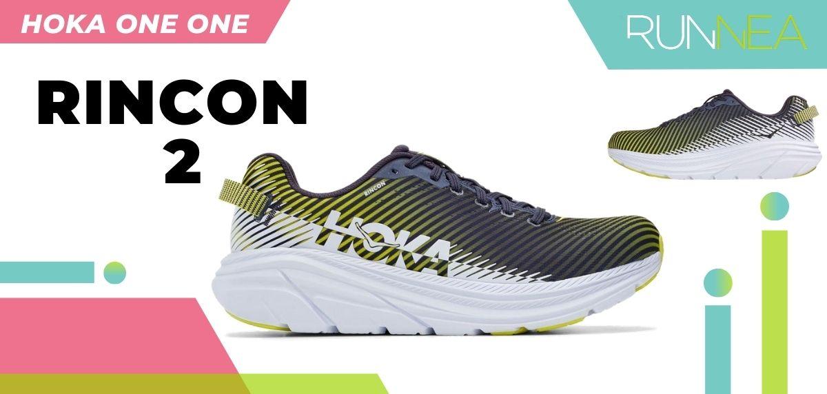 Las novedades 2020 de HOKA ONE ONE en zapatillas running y trail running: HOKA ONE ONE Rincon 2