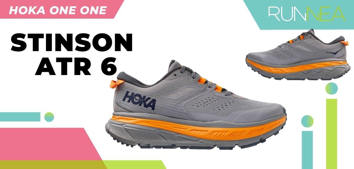 Las novedades 2020 de HOKA ONE ONE en zapatillas running y trail running: HOKA ONE ONE Stinson ATR 6