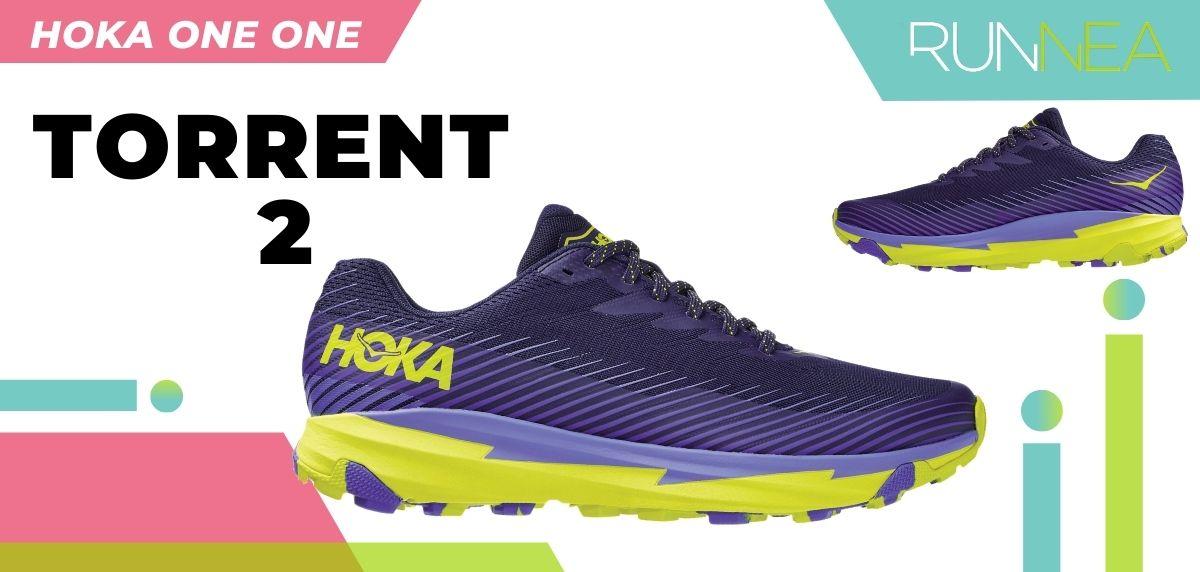 Las novedades 2020 de HOKA ONE ONE en zapatillas running y trail running: HOKA ONE ONE Torrent 2