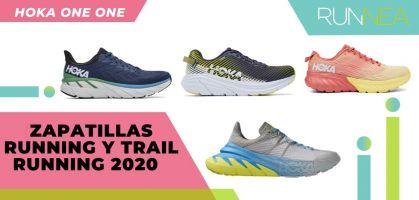 Las novedades 2020 de HOKA ONE ONE en zapatillas running y trail running