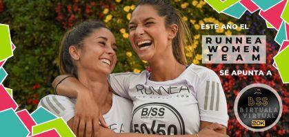 Este año el RUNNEA Women Team se apunta a la B/SS Virtual