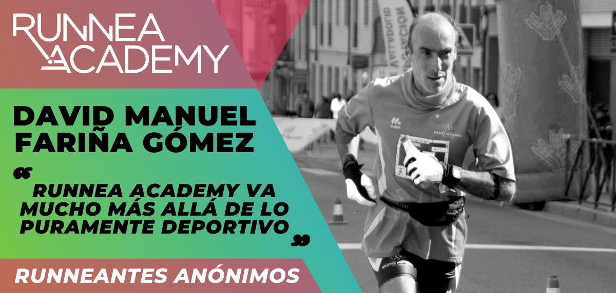 """David Fariña: """"Runnea Academy va mucho más allá de lo puramente deportivo"""""""