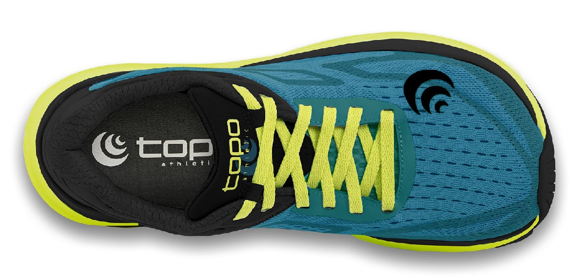Topo Athletic Ultrafly 3, upper