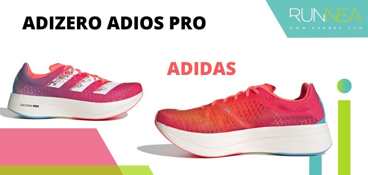 Las zapatillas de running con placa de carbono más destacadas, adidas Adizero Adios Pro