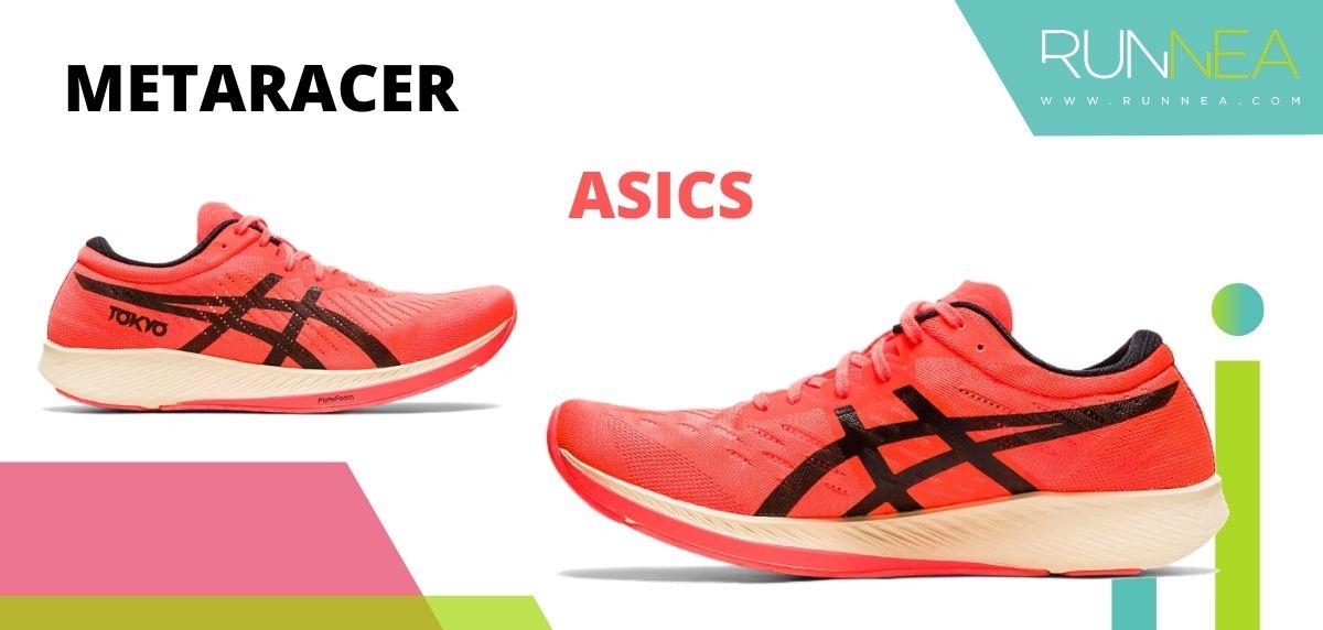 Las zapatillas de running con placa de carbono más destacadas, ASICS MetaRacer