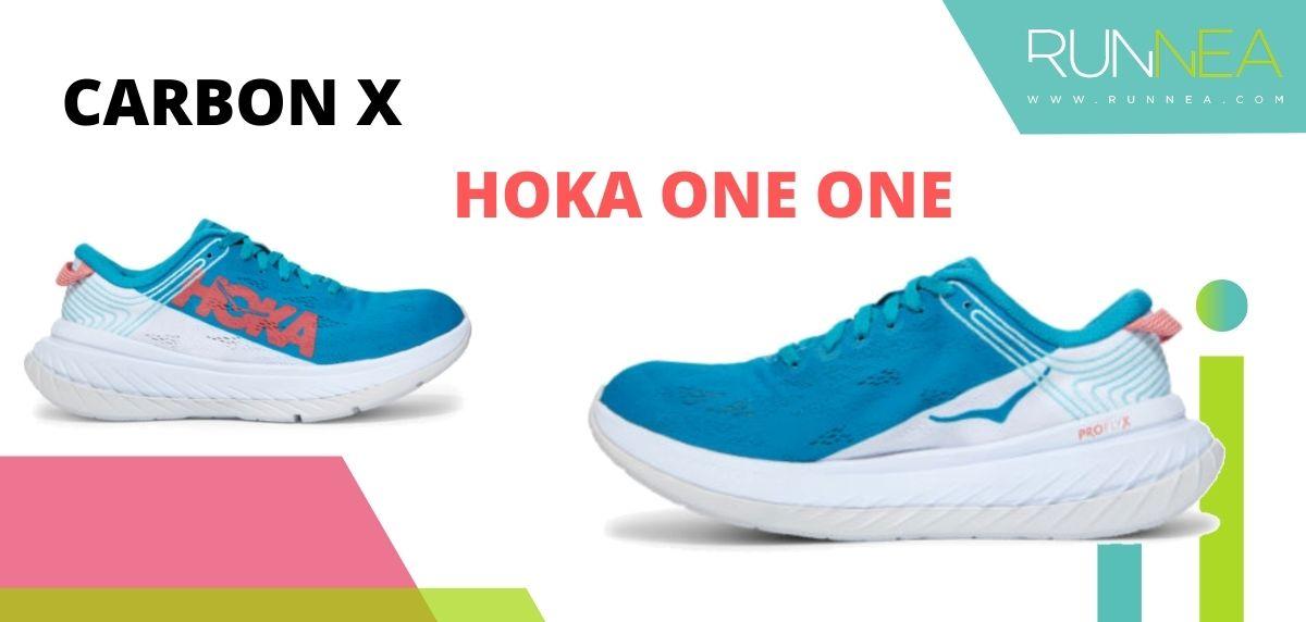 Las zapatillas de running con placa de carbono más destacadas, HOKA ONE ONE Carbon X