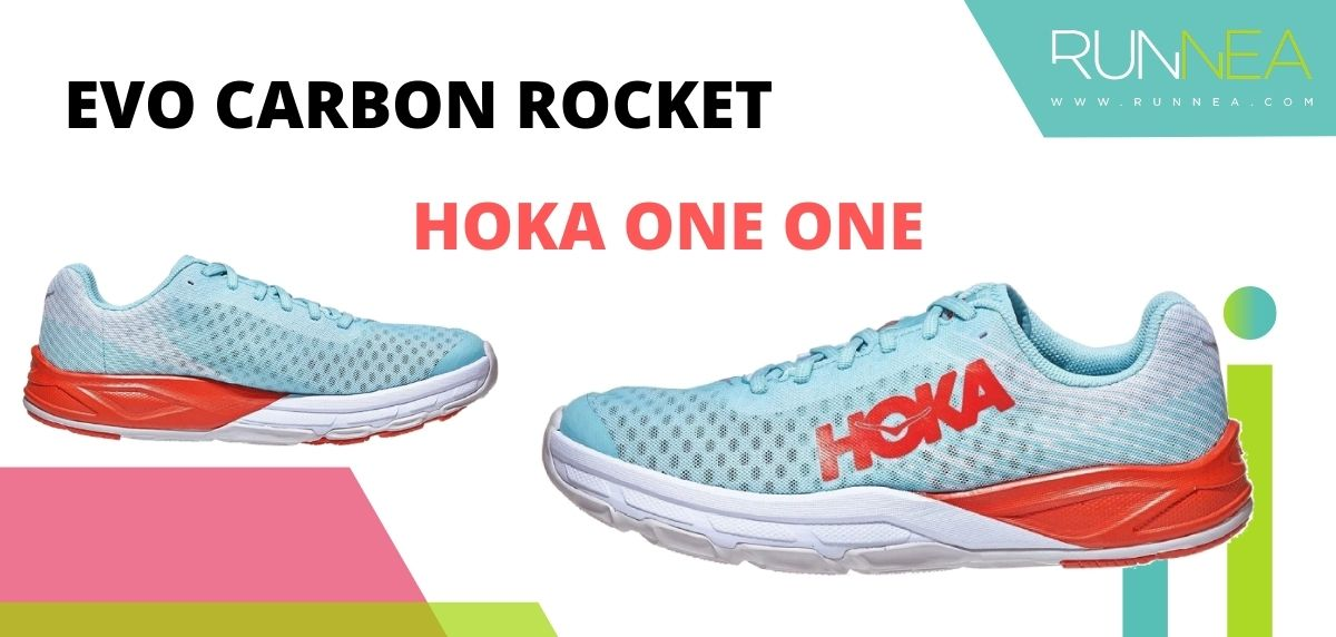 Las zapatillas de running con placa de carbono más destacadas, HOKA ONE ONE Evo Carbon Rocket