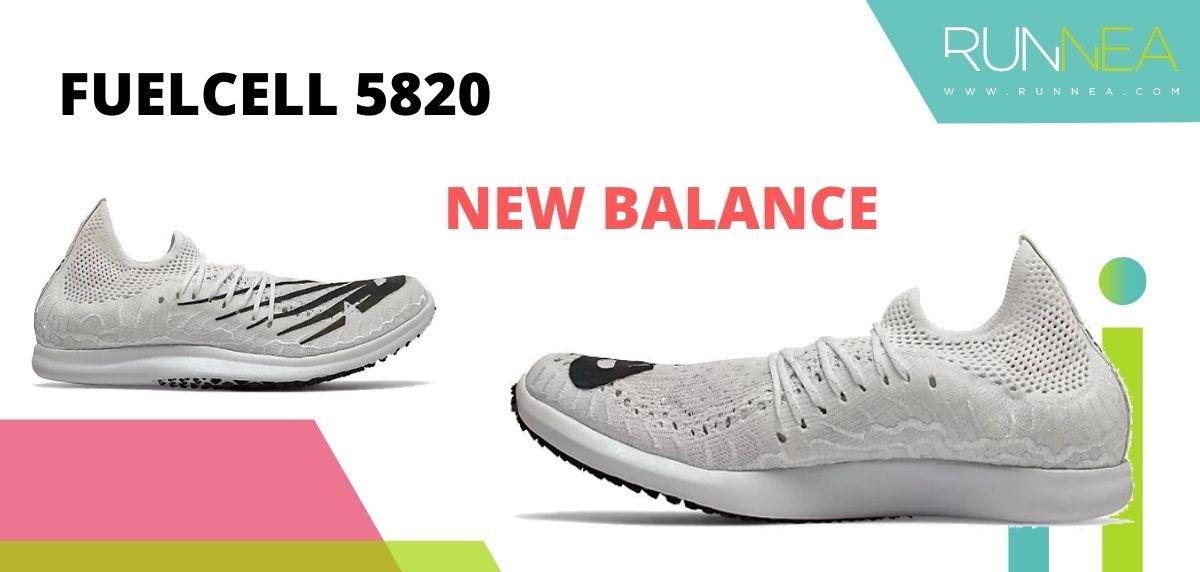 Las zapatillas de running con placa de carbono más destacadas, New Balance FuelCell 5820