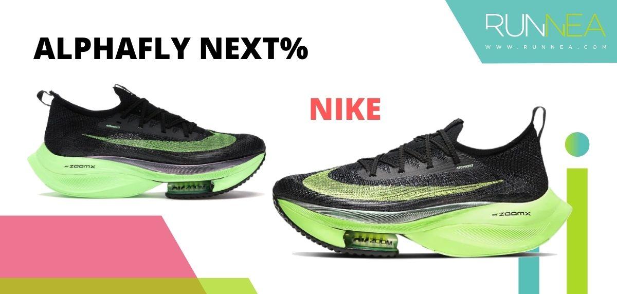 Las zapatillas de running con placa de carbono más destacadas, Nike Air Zoom Alphafly NEXT%