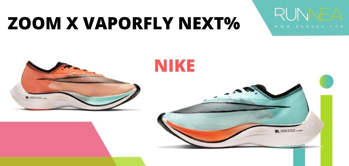 Las zapatillas de running con placa de carbono más destacadas, Nike Zoom X Vaporfly Next%