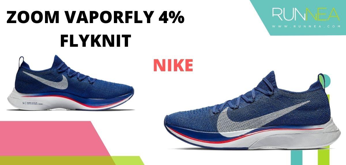 Las zapatillas de running con placa de carbono más destacadas, Nike ZoomX Vaporfly 4% Flyknit