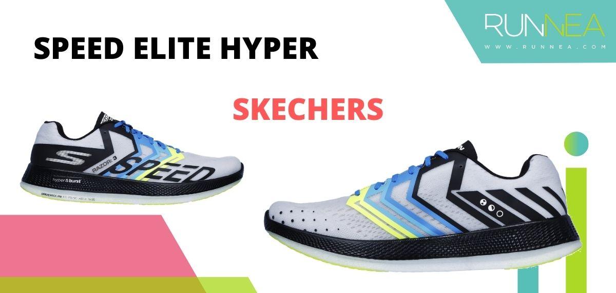 Las zapatillas de running con placa de carbono más destacadas, Skechers Speed Elite Hyper
