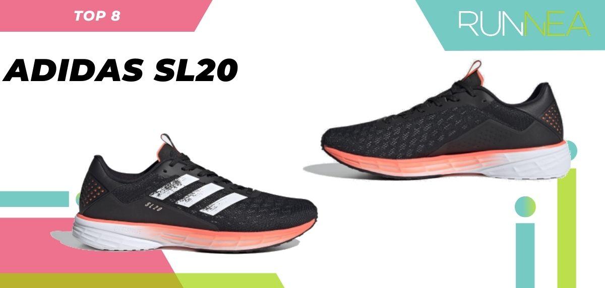 La scarpa da corsa in asfalto più venduta dell'estate 2020, Adidas SL20