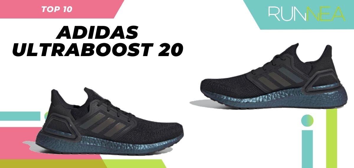 Le scarpe da corsa asfaltate più vendute dell'estate 2020, Adidas Ultraboost 20