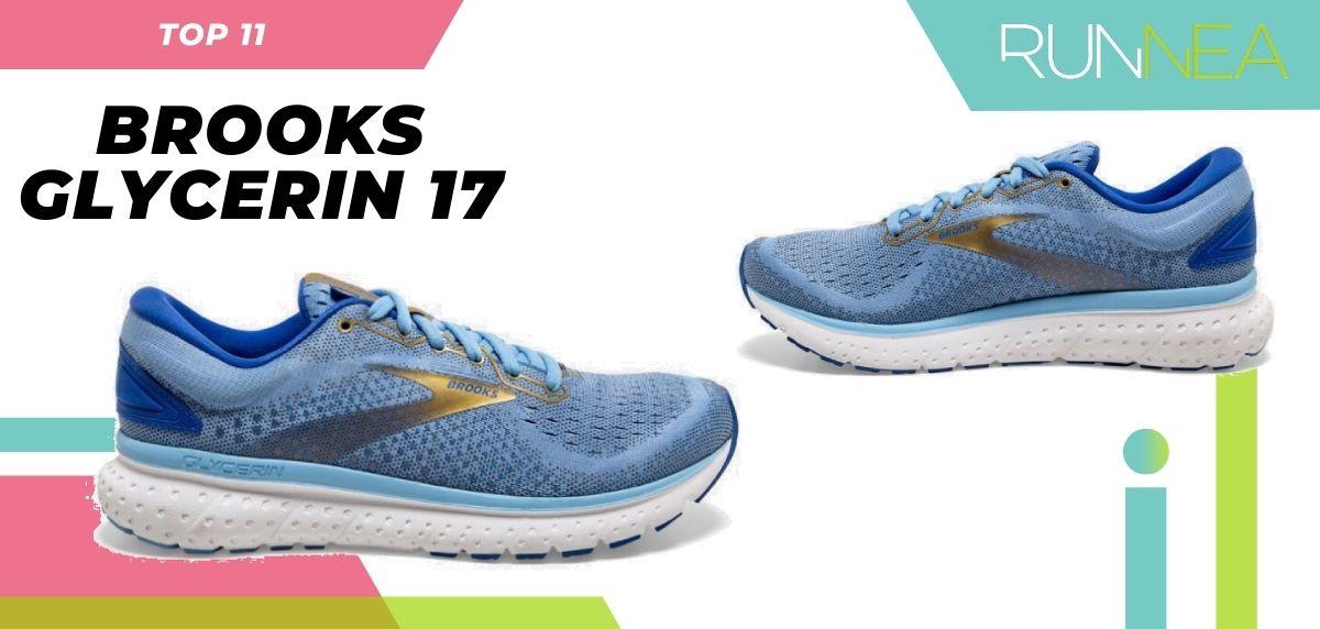 Le scarpe da corsa su asfalto più vendute dell'estate 2020, Brooks Glycerin 17