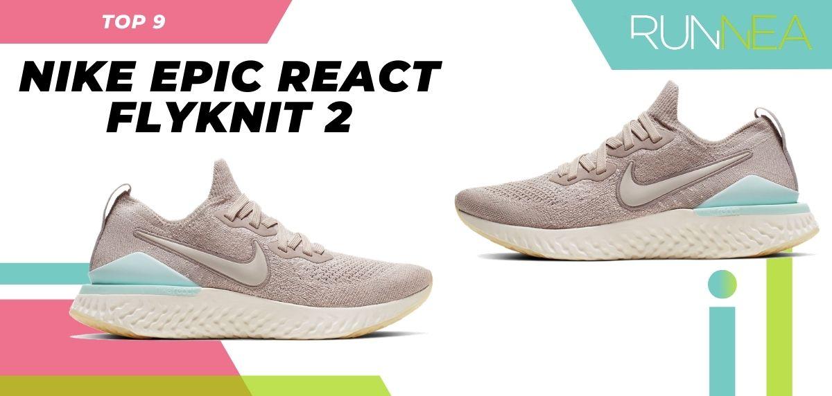 La scarpa da corsa da strada più venduta dell'estate 2020, Nike Epic React Flyknit 2