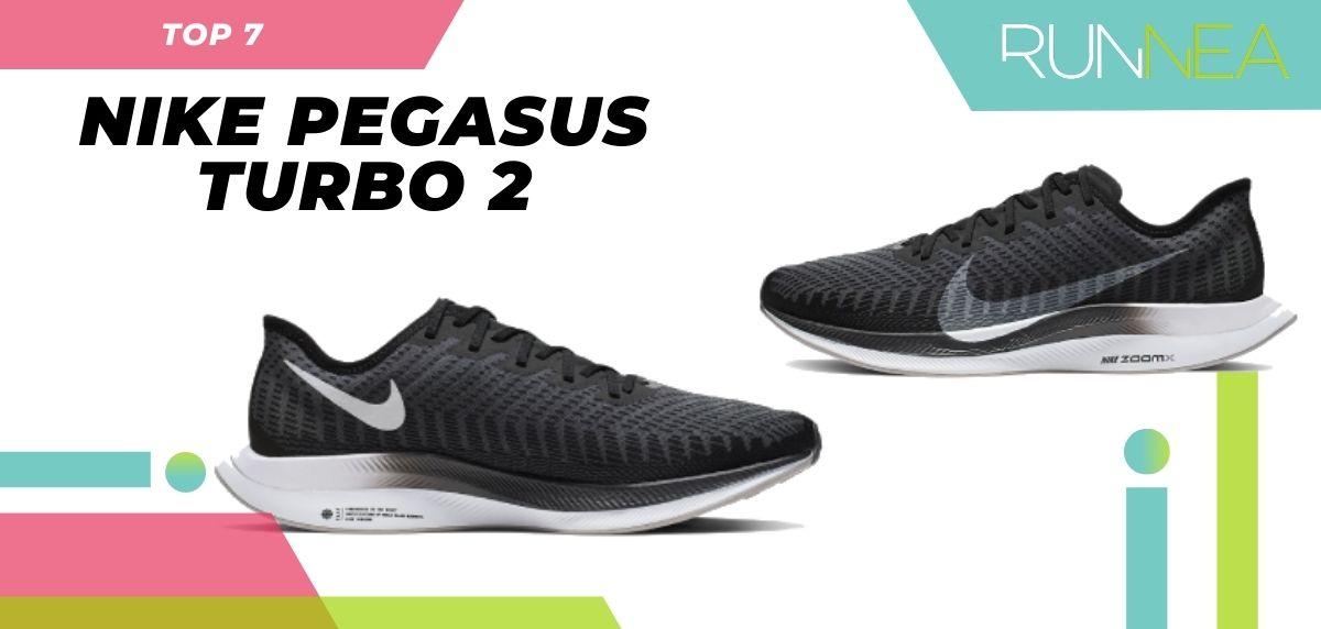 Le scarpe da corsa asfaltate più vendute dell'estate 2020, Nike Pegasus Turbo 2