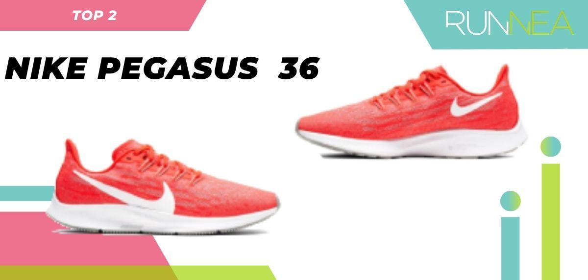 Le scarpe da corsa asfaltate più vendute dell'estate 2020, Nike Pegasus 36