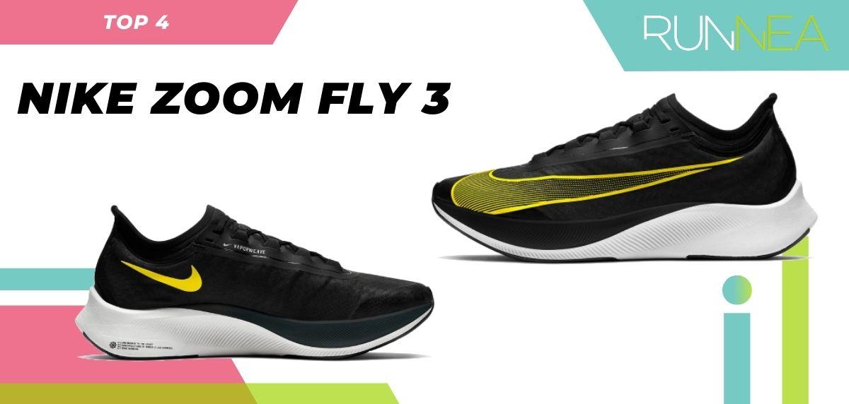 Le scarpe da corsa asfaltate più vendute dell'estate 2020, Nike Zoom Fly 3