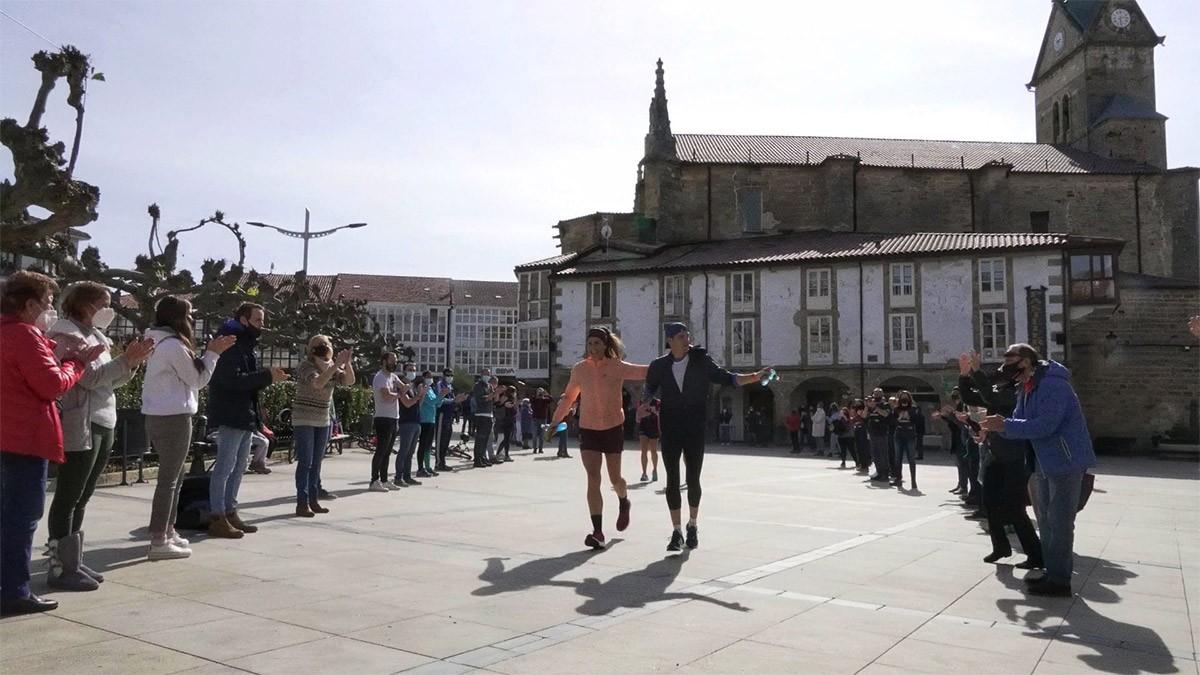 101kmSolidarios contra el cáncer, experiencia personal de Adriana Andino e Iker Soldevilla - foto 4