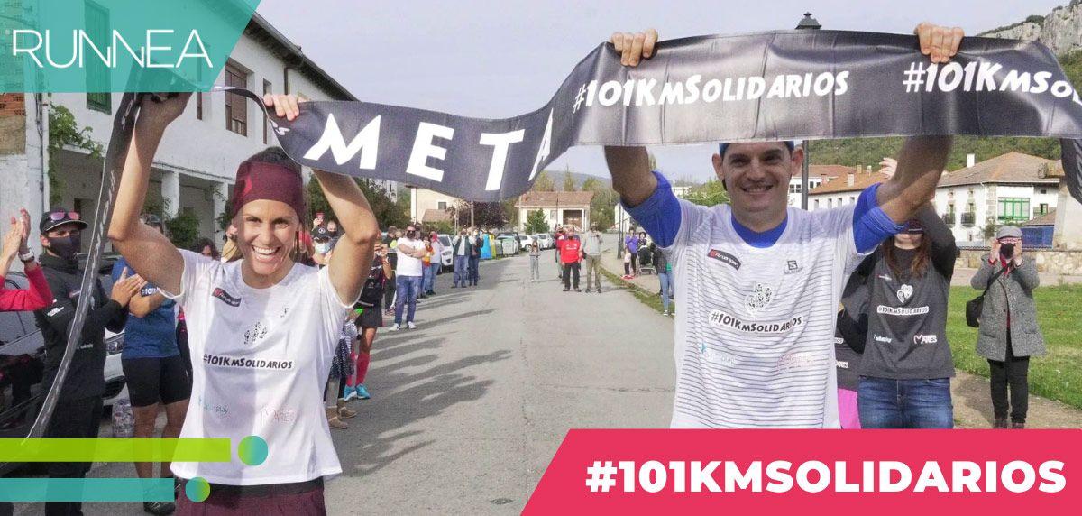 ¡Reto #101KmSolidarios, superado: running y solidaridad, a partes iguales!