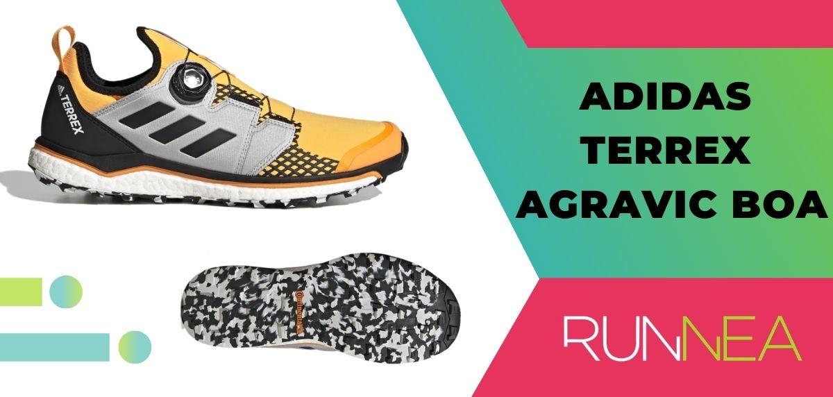 Las 15 mejores zapatillas de trekking 2020, Adidas Terrex Agravic Boa