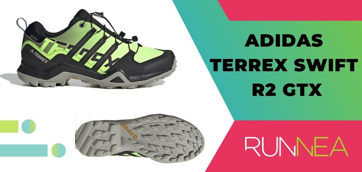 Las 15 mejores zapatillas de trekking 2020, Adidas Terrex Swift R2 GTX