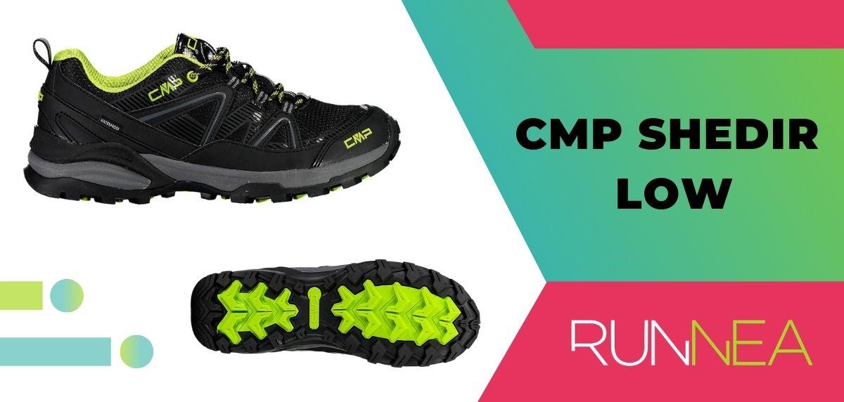 Le 15 migliori scarpe da trekking da trekking 2020, CMP Shedir Low