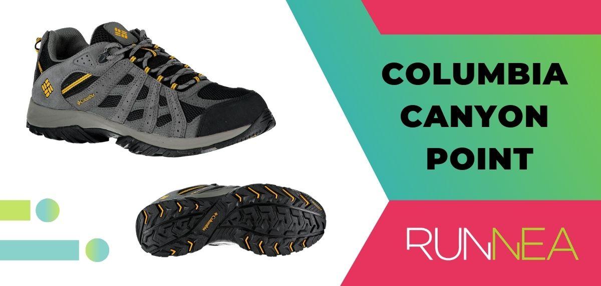 Las 15 mejores zapatillas de trekking 2020, Columbia Canyon Point