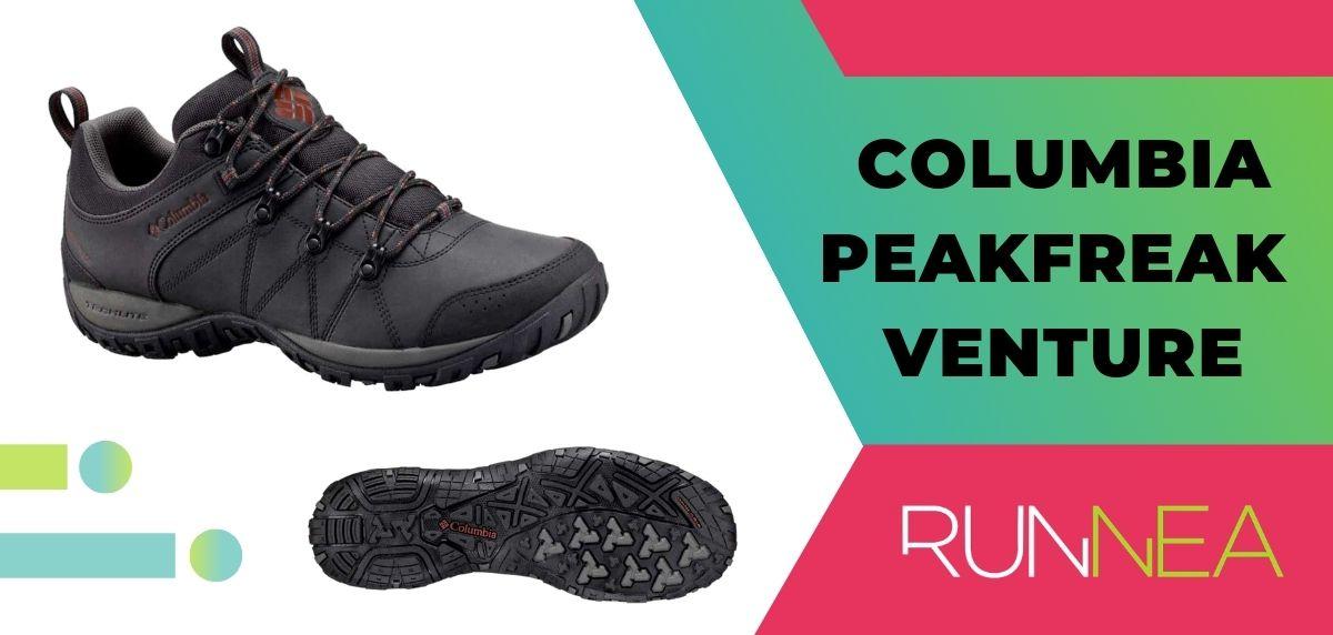 Top 15 delle migliori scarpe da trekking da trekking 2020, Columbia Peakfreak Venture