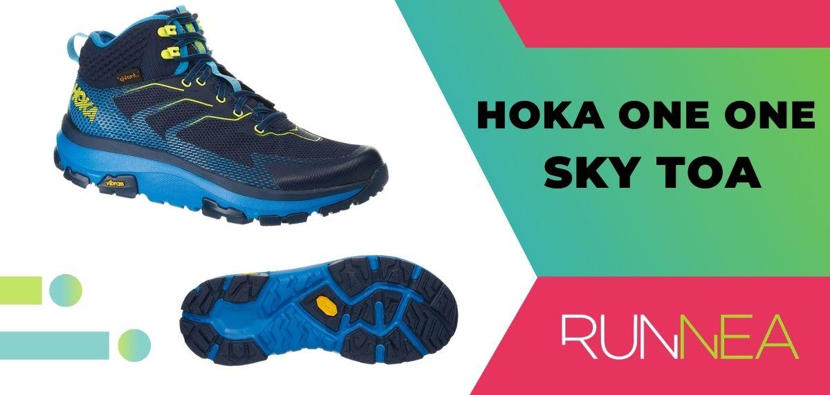 Le 15 migliori scarpe da trekking da trekking 2020, Hoka One One Sky Toa