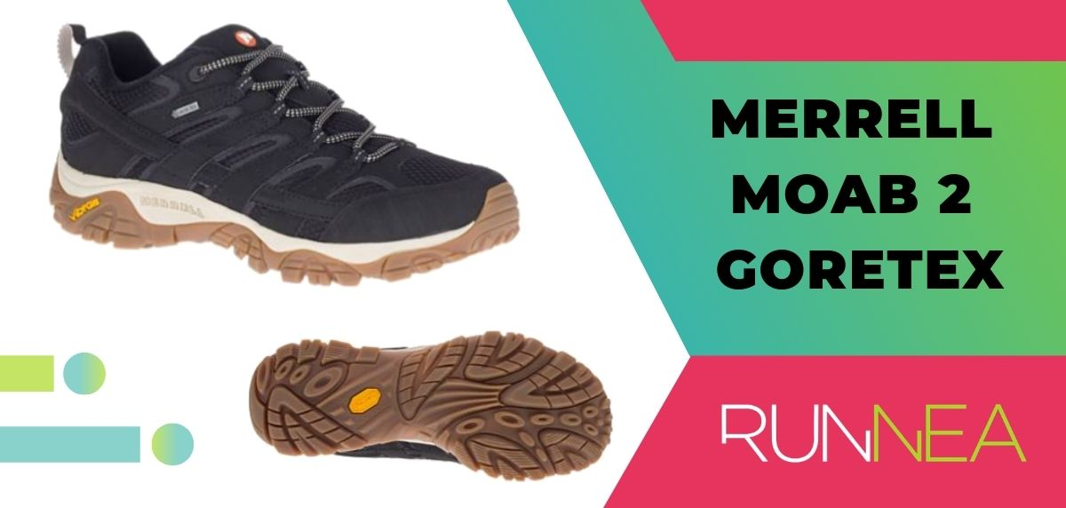 Las 15 mejores zapatillas de trekking 2020, Merrell Moab 2 Goretex