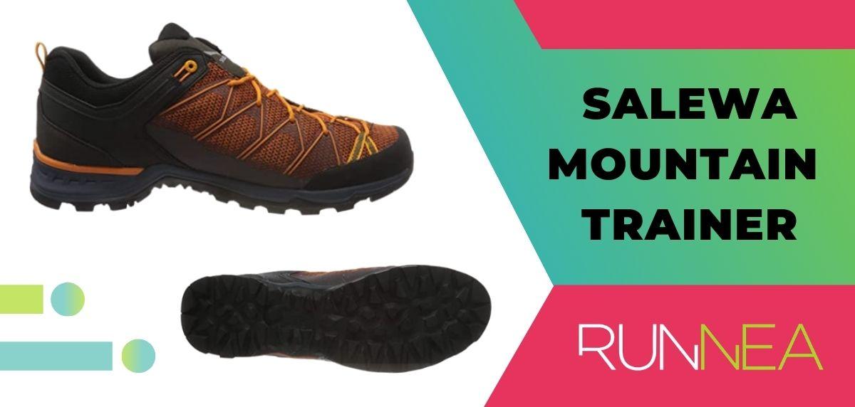 Le 15 migliori scarpe da trekking da trekking 2020, Salewa Mountain Trainer
