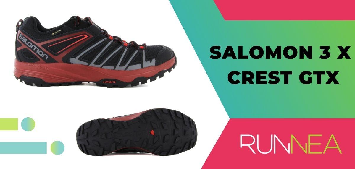 Le 15 migliori scarpe da trekking da trekking 2020, Salomon 3 X Crest GTX