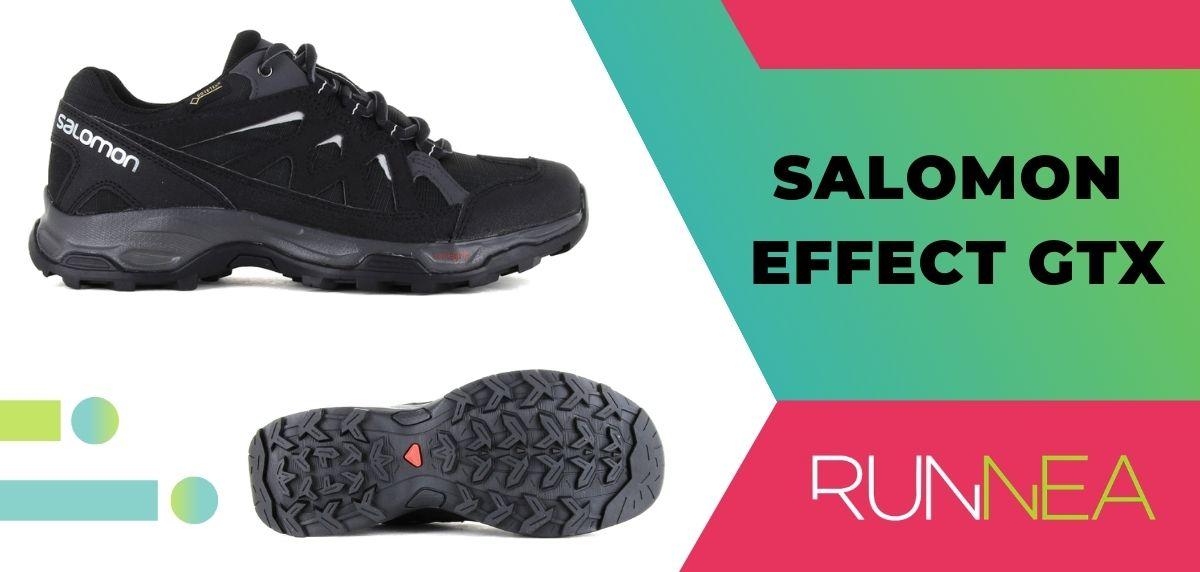 Le 15 migliori scarpe da trekking da trekking 2020, Salomon Salomon Effect GTX