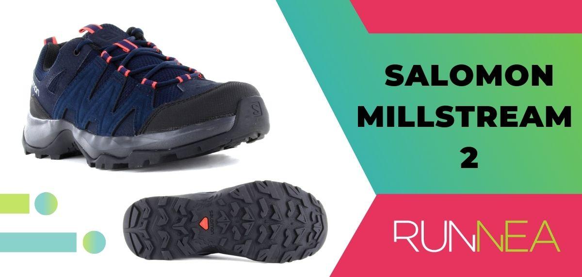 Las 15 mejores zapatillas de trekking 2020, Salomon Millstream 2